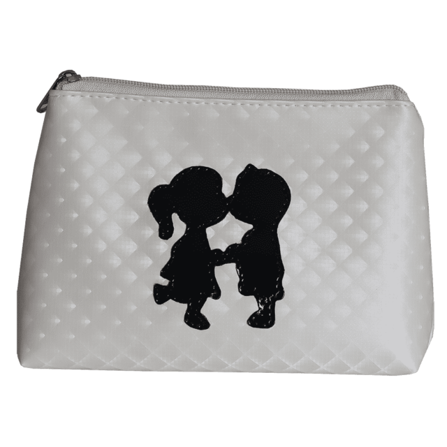 kissing cousin cosmetic purse